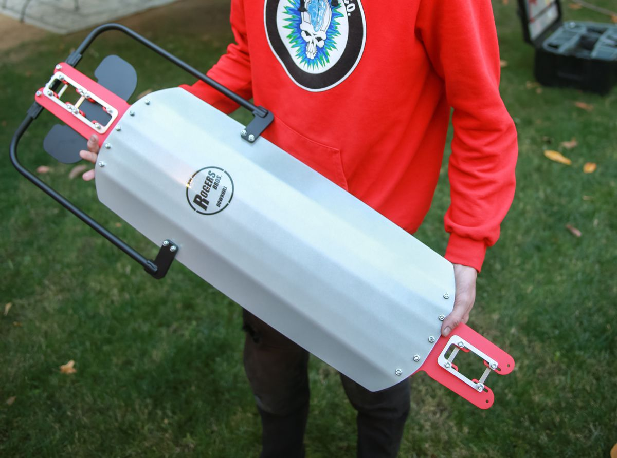 Rogers Bros compact luge deck